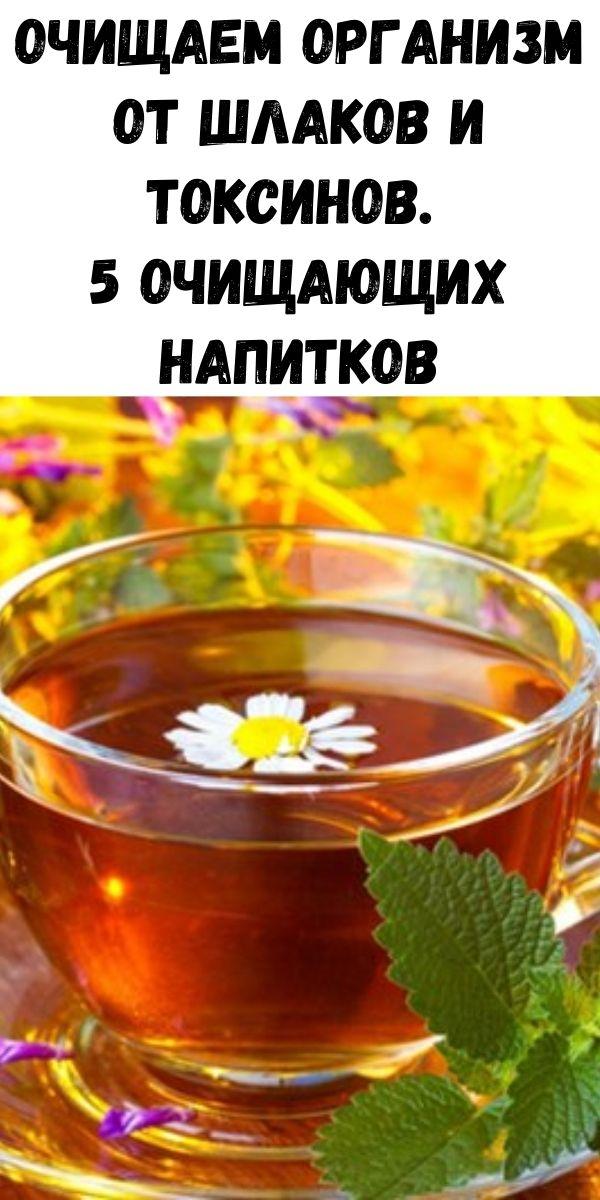 Очищаем организм от шлаков и токсинов. 5 очищающих напитков