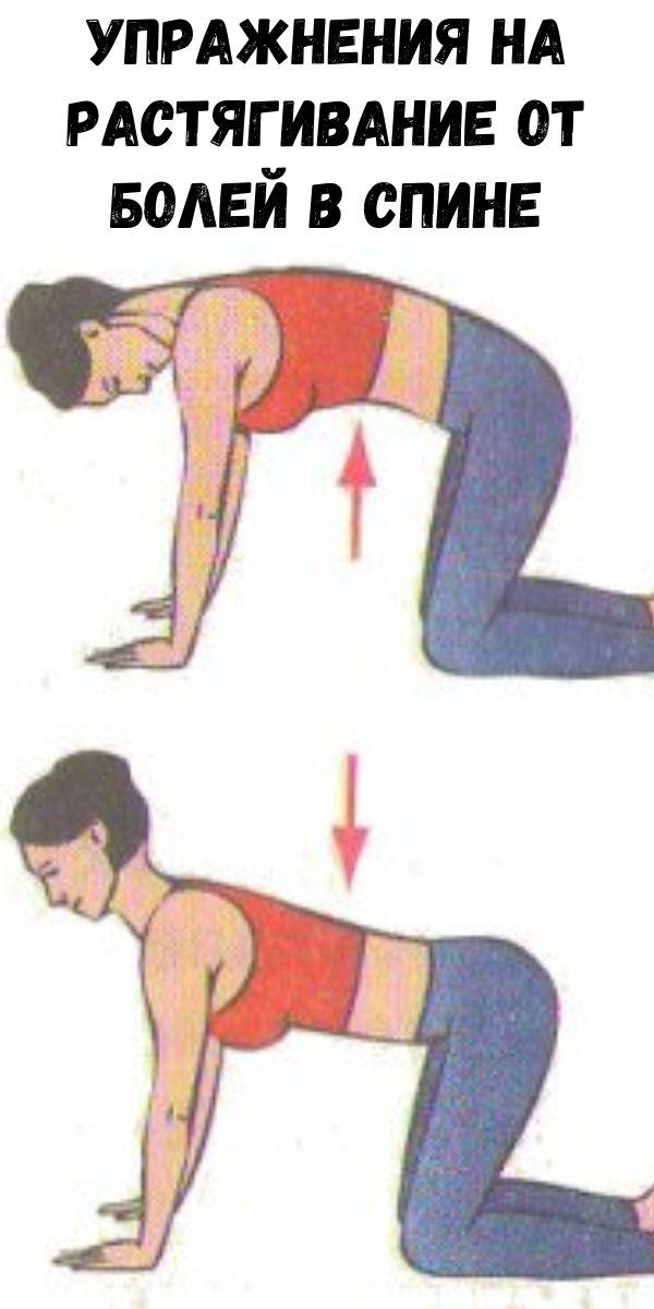Упражнения на растягивание от болей в спине
