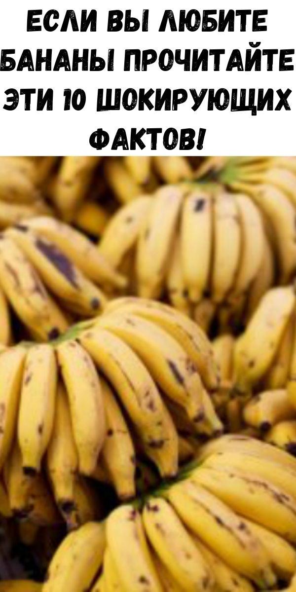 Если вы любите бананы прочитайте эти 10 шокирующих фактов!